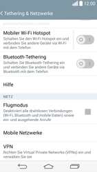LG G3 - Internet und Datenroaming - Prüfen, ob Datenkonnektivität aktiviert ist - Schritt 5