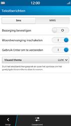 BlackBerry Z30 - sms - handmatig instellen - stap 6