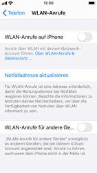 Apple iPhone SE - iOS 13 - WiFi - WiFi Calling aktivieren - Schritt 6