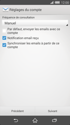 Sony Xperia Z2 - E-mail - configuration manuelle - Étape 16