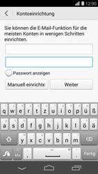 Huawei Ascend P7 - E-Mail - Konto einrichten - Schritt 7