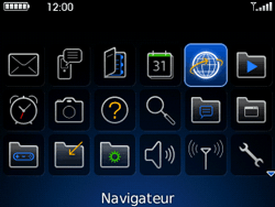 BlackBerry 9300 Curve 3G - Internet - Navigation sur Internet - Étape 2