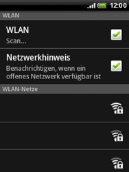 HTC Wildfire - WLAN - Manuelle Konfiguration - 7 / 10
