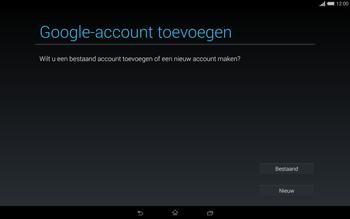 Sony Xperia Tablet Z2 4G (SGP521) - Applicaties - Account aanmaken - Stap 4