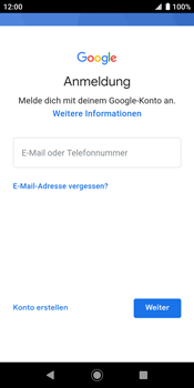 Sony Xperia XZ2 - Android Pie - Apps - Konto anlegen und einrichten - Schritt 5