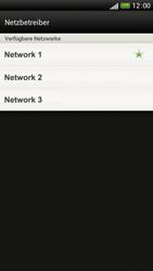 HTC One S - Netzwerk - Manuelle Netzwerkwahl - Schritt 8