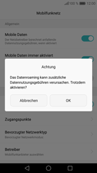 Huawei P9 Lite - Ausland - Im Ausland surfen – Datenroaming - 2 / 2