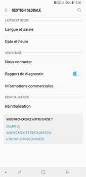 Samsung Galaxy A7 2018 - Aller plus loin - Restaurer les paramètres d'usines - Étape 5