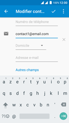 Wiko Freddy - Contact, Appels, SMS/MMS - Ajouter un contact - Étape 14