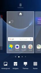 Samsung Galaxy S7 - Startanleitung - Installieren von Widgets und Apps auf der Startseite - Schritt 3