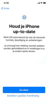 Apple iphone-x-met-ios-13-model-a1901 - Instellingen aanpassen - Nieuw toestel instellen - Stap 28