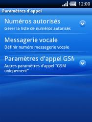Sony Xperia X10 Mini Pro - Messagerie vocale - Configuration manuelle - Étape 5