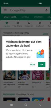 Samsung Galaxy S10e - Apps - Nach App-Updates suchen - Schritt 4