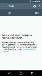 Sony Xperia XA (F3111) - Android Nougat - Wi-Fi - Verbinding maken met Wi-Fi - Stap 5