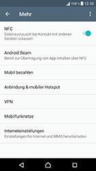 Sony Xperia XZ - Ausland - Im Ausland surfen – Datenroaming - Schritt 7