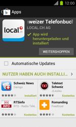 Samsung Galaxy S II - Apps - Installieren von Apps - Schritt 9