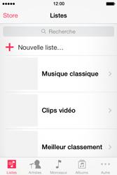Apple iPhone 4 - Photos, vidéos, musique - Ecouter de la musique - Étape 3