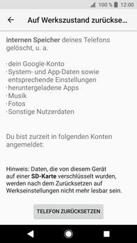 Sony Xperia XA2 Ultra - Fehlerbehebung - Handy zurücksetzen - 9 / 12