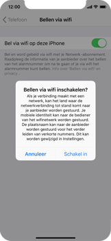 Apple iphone-x-met-ios-12-model-a1901 - Bellen - WiFi Bellen (VoWiFi) - Stap 6