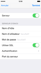 Apple iPhone 5c - E-mail - configuration manuelle - Étape 22