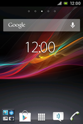 Sony Xperia E - Software - Update - 1 / 4