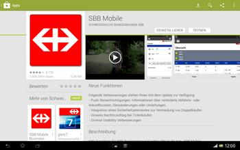 Sony Xperia Tablet Z LTE - Apps - Installieren von Apps - Schritt 24