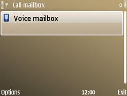 Nokia E72 - Voicemail - Manual configuration - Step 7
