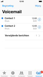 Apple iPhone SE met iOS 11 (Model A1723) - Voicemail - Visual Voicemail - Stap 17