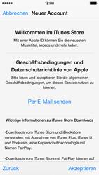 Apple iPhone 5S mit iOS 8 - Apps - Konto anlegen und einrichten - Schritt 22
