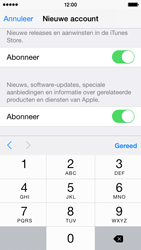 Apple iPhone 5s (iOS 8) - apps - account instellen - stap 17