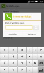 Alcatel Pop S3 - Anrufe - Rufumleitungen setzen und löschen - 1 / 1