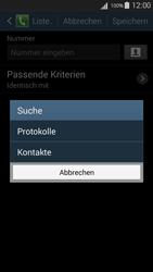 Samsung I9301i Galaxy S III Neo - Anrufe - Anrufe blockieren - Schritt 10