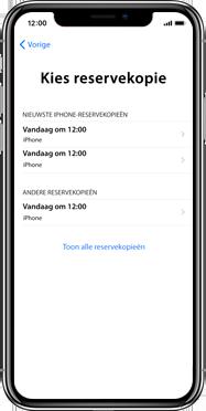 Apple iphone-xs-max-met-ios-13-model-a1921 - Instellingen aanpassen - Activeer het toestel en herstel jouw iCloud-data - Stap 21