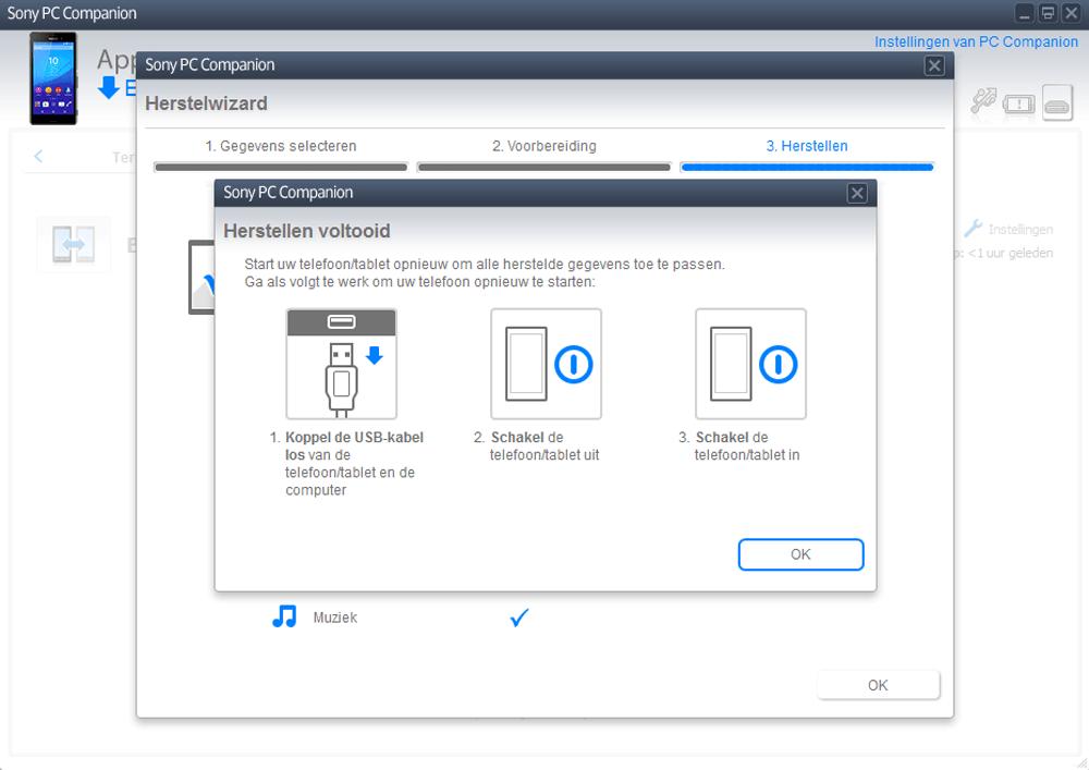 Sony E2303 Xperia M4 Aqua - Software - Backup maken van je toestel - Stap 13