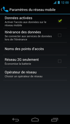 Samsung I9250 Galaxy Nexus - Internet - Configuration manuelle - Étape 6