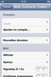 Apple iPhone 4 - E-mail - configuration manuelle - Étape 16