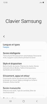 Samsung Galaxy Note 20 5G - Prise en main - Comment ajouter une langue de clavier - Étape 8