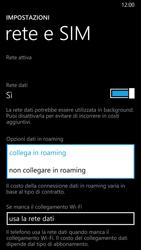 Nokia Lumia 930 - Internet e roaming dati - Disattivazione del roaming dati - Fase 6