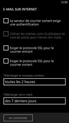 HTC Windows Phone 8X - E-mail - configuration manuelle - Étape 15