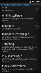 Sony ST25i Xperia U - Internet - Internet gebruiken in het buitenland - Stap 7