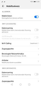 Huawei P20 - Android Pie - Netzwerk - So aktivieren Sie eine 4G-Verbindung - Schritt 5