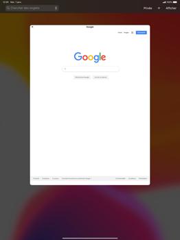 Apple iPad Pro 12.9 (1st gen) - ipados 13 - Internet et roaming de données - Navigation sur Internet - Étape 12