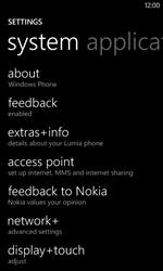 Nokia Lumia 520 - Internet - Manual configuration - Step 8