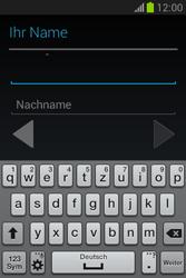 Samsung Galaxy Fame Lite - Apps - Einrichten des App Stores - Schritt 6