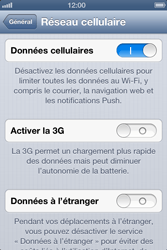 Apple iPhone 4 S - iOS 6 - Internet - activer ou désactiver - Étape 5