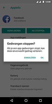 Motorola Moto G6 - apps - apps afsluiten - stap 8