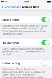 Apple iPhone 4 S - Ausland - Im Ausland surfen – Datenroaming - 6 / 9