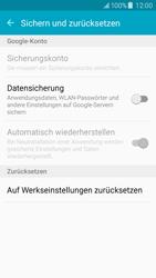 Samsung J500F Galaxy J5 - Fehlerbehebung - Handy zurücksetzen - Schritt 7