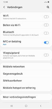 Samsung Galaxy A10 - wifi - handmatig instellen - stap 5
