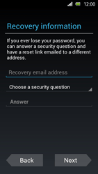 Sony Xperia U - Applications - Setting up the application store - Step 8